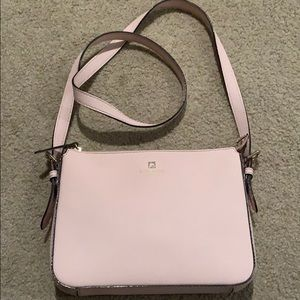 Kate Spade blush pink crossbody. Like new